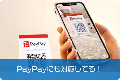 PayPayにも対応してる!