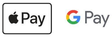 Apple Pay・Google Payでスピード決済!