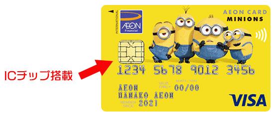 ICチップ搭載クレジットカード